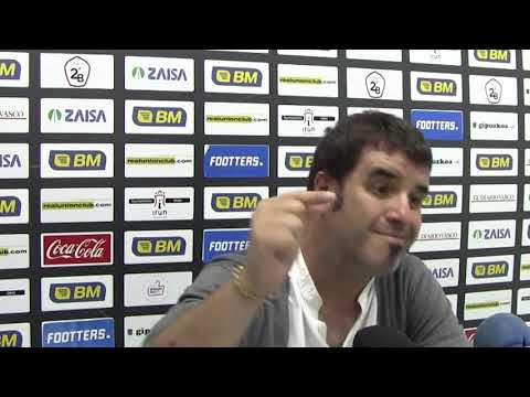Aitor Zulaika, comparecencia de prensa tras el Real Unión 1-2 CD Badajoz