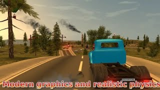 **RUSSIAN CAR DRIVER ZIL 130** THE BEST GRAPHICS GAME* FOR ANDROID* IN 200 MB *110% REALGRAPHICS**