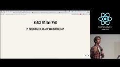 Alex Girard - React Native Web - React Native Sydney Meetup 002