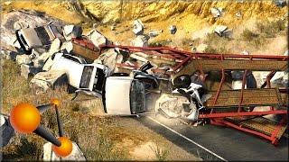 BeamNG Drive Rock Slides #2