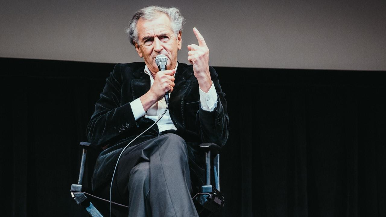 'Peshmerga' Q&A | Bernard-Henri Lévy | New York Jewish Film Festival