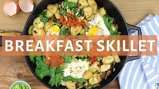 Egg & Potato Breakfast Skillet | HEALTHY BREAKFAST IDEAS
