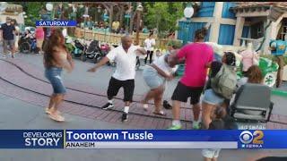 WATCH: Brawl Breaks Out Inside Disneyland