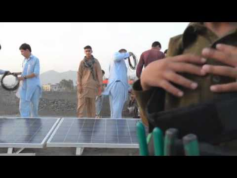 Dropping Solar Bombs in Afghanistan Trailer