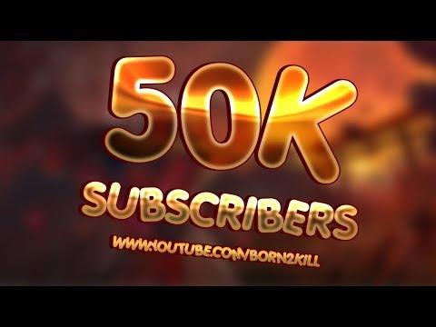 [B2K] شكرا لكل من ساهم في دعم القناة أحبكم جميعا - THANK YOU FOR 50K YOUTUBE SUBSCRIBERS - 동영상