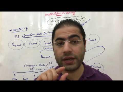 029 API 510 Course - (7.1) Corrosion Rate Determination - 029 (Arabic) F2F