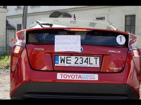Ile pali Toyota Prius IV generacji czyli Toyota Economy Race 2016