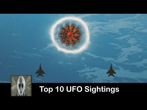 Top 10 UFO Sightings July 10th 2017