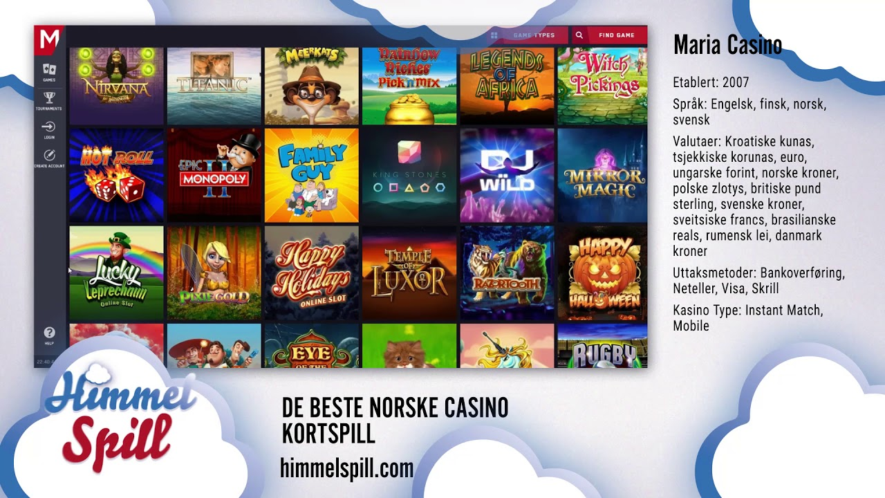 Euro casino p? norsk