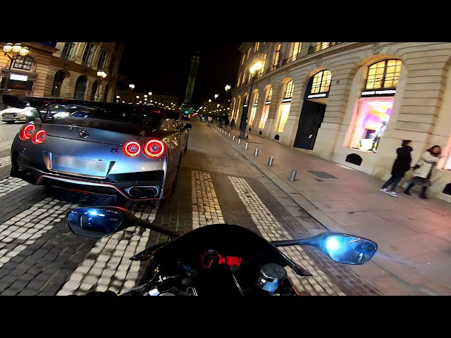 Daily Observations 12# ➜ GT-R VS GSX-R 🔥🔞