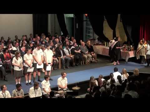 Senior Prize Giving, 2013, part one