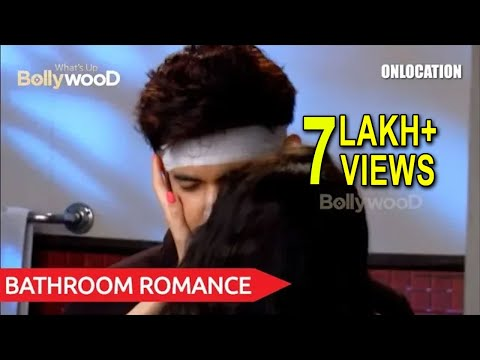 Aadhya & Jai's Bathroom Romance | Internet Wala Love | Tv Serial | On Location