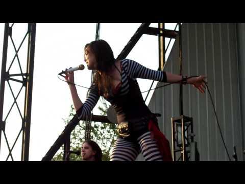 Halestorm - Familiar Taste of Poison/Drum Solo Live - Avalanche Tour Lubbock 4/16/11