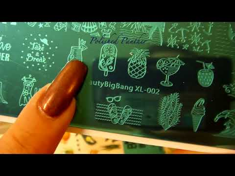 Beauty Big Bang Package Part 2 of 1 and stamper demo