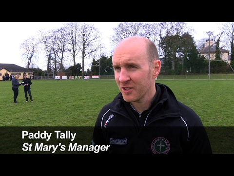 Paddy Tally, St Mary's Manager