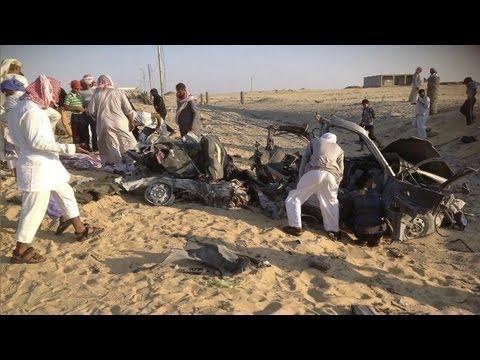 Egyptian police killed in Sinai ambush