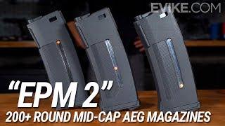 "The 200+ Round Mid-Cap AEG Magazines - ""EPM 2"" Magazines - Coming Soon"