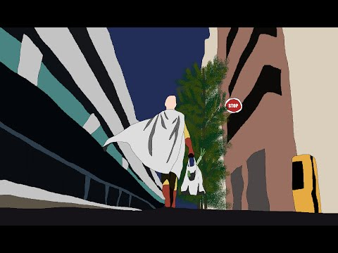 One Punch Man Opening in Paint