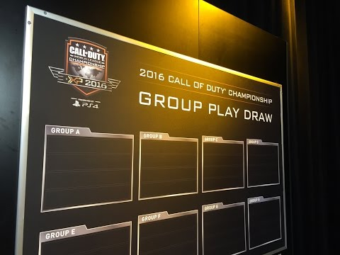 CWL Championship Group Draw Show