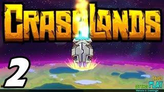 Crashlands E02 - Legendary Hydrablade! (Gameplay / Playthrough / 1080p)
