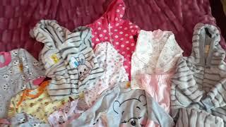 Большая закупка одежды для новорожденной девочки / Детский трикотаж Украина