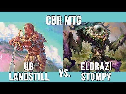CBR MTG - LEGACY: Brandon Owen (UB Landstill) vs Andrew Ball (Eldrazi Stompy)