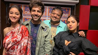 Kartik Aaryan, Bhumi Pednekar & Ananya Panday on Pati Patni Aur Woh, Road trips & more | HrishiKay