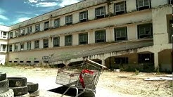 Waipukurau hospital abandoned and vandilized