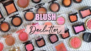Makeup Declutter: Powder Blush