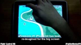 Flight Control HD - iPad App Review TV
