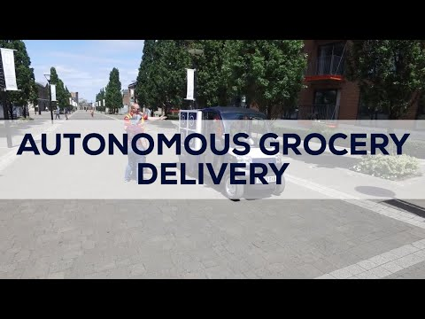 Londoners are having groceries delivered by a driverless 'CargoPod'