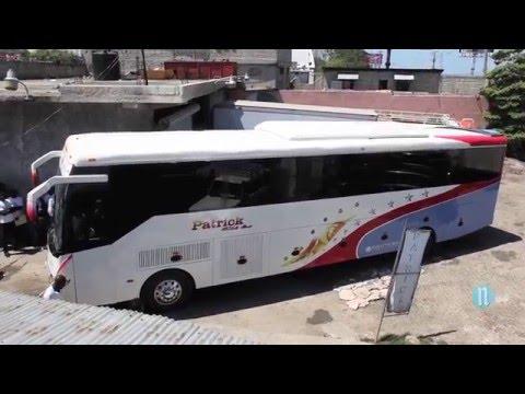 Coutard Motors présente  son 2e Autobus fabriqué en Haiti