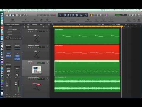 Logic Pro X - Video Tutorial 28 - MIDI Piano Roll Editor, part 2