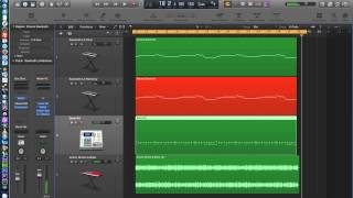 Logic Pro X - Video Tutorial 28 - MIDI Piano Roll Editor, part 2