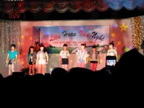 văn nghệ chào mừng ngày 20 tháng 11 trường THPT Phan Bội Châu tp Pleiku năm 2012