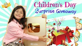 Children's Day Surprise GIFT & GIVEAWAY | #Unboxing #MyMissAnand