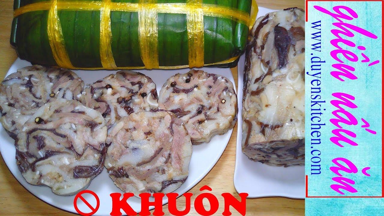 3 Cách Gói Giò Thủ Cực Nhanh Cực Dễ Không Cần Khuôn By Duyen's Kitchen | Ghiền Nấu Ăn