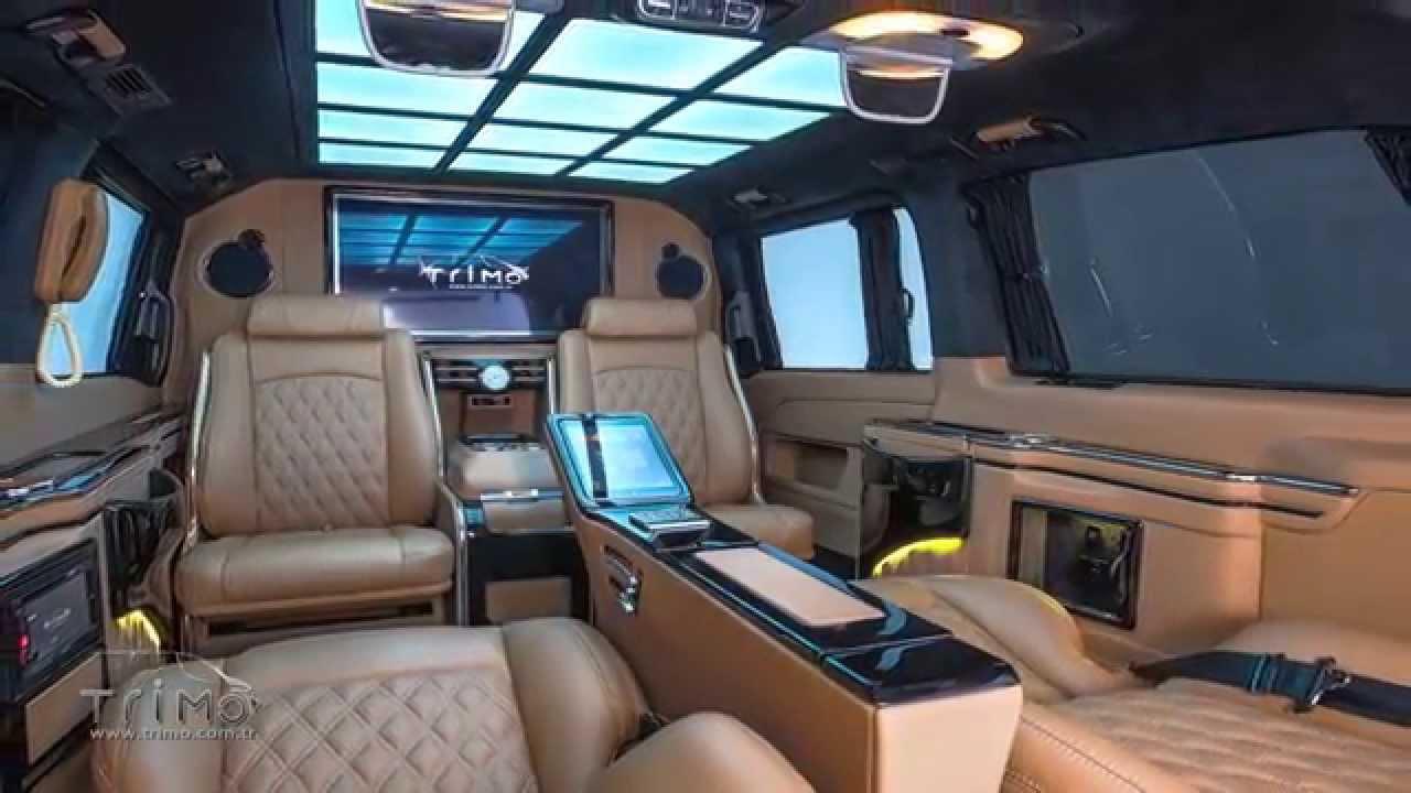 Mercedes Benz V Class Vip Design By Trimo Com Tr Youtube