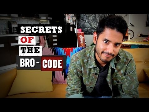 """Secrets Of The Bro-Code - """"Straight Up"""" with Gerson"""