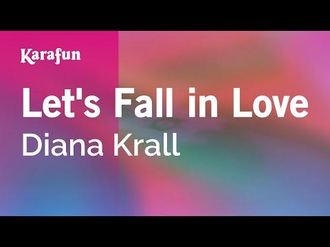 Karaoke Let's Fall in Love - Diana Krall *