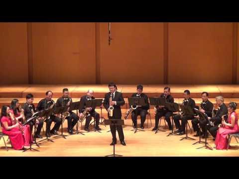 05 Yu Wen Wang 王裕文, The Owls Sax Ensemble, The Carnival of Venice 2