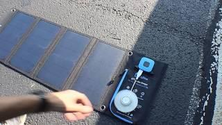 BigBlue 28 Watt Solar Charger Review