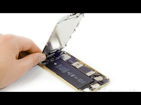 Cracking Open - Apple iPhone 6
