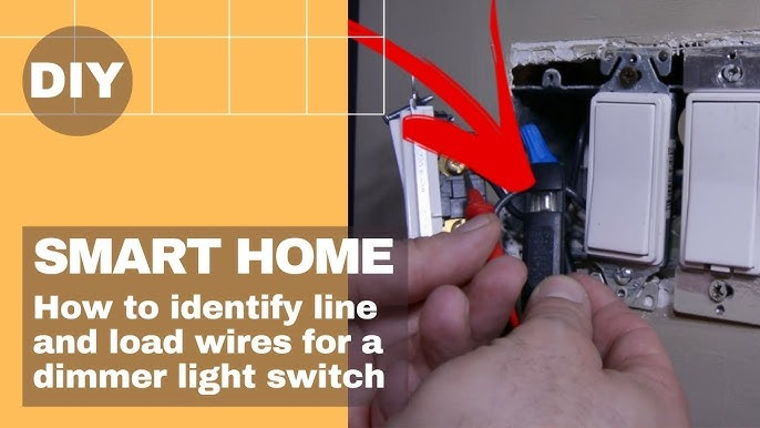 Insteon Smart Home 🏠   How to identify line and load wires for a dimmer  light switch💡 - YouTubeYouTube