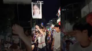 Hot girl quận Cam náo loạn  đường phố bao ngày bão affcupsuzuki2018