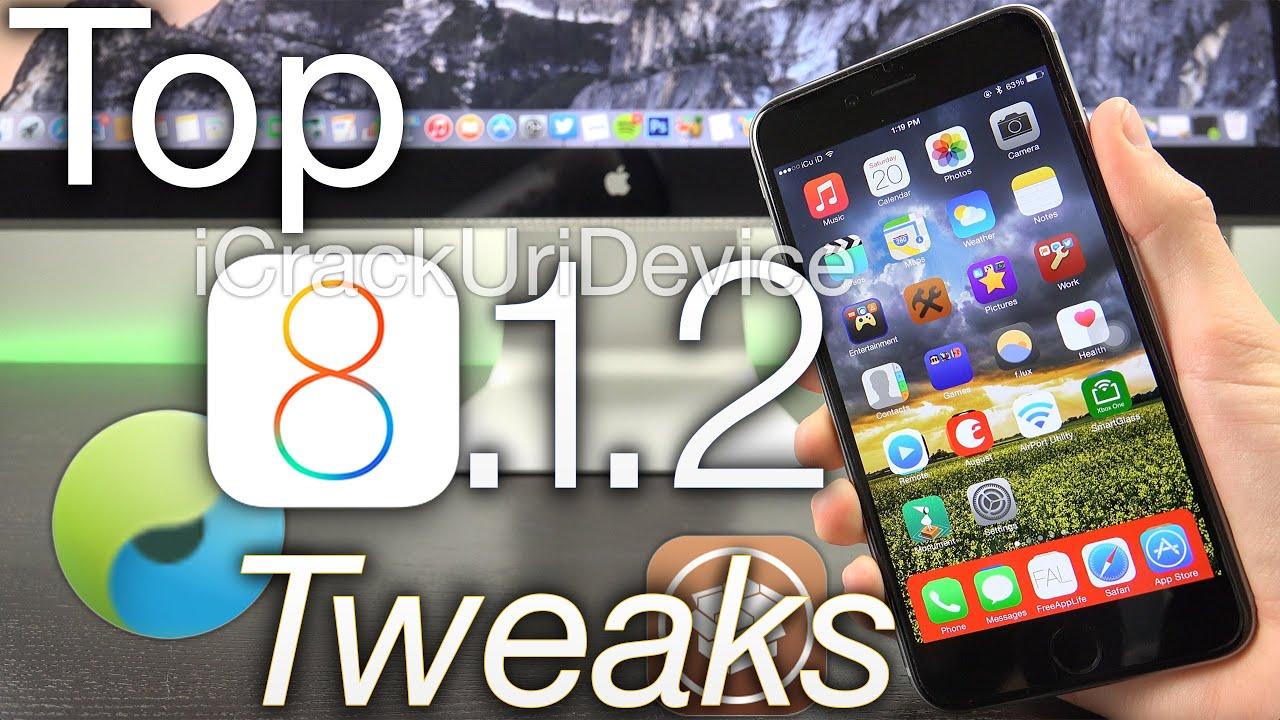 New Top iOS 8 1 2 Cydia Tweaks Best List: 8 1 2 Jailbreak Top TaiG Tweaks,  iPhone 6 Plus iPad & More