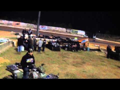 Jack Jr Sprint Feature Nov 1st 2014 Halloween Havoc Gator Motorplex uWillis TX