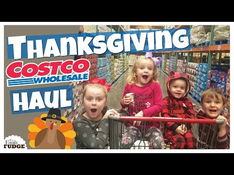 Thanksgiving SHOP with ME + COSTCO and Walmart Grocery HAUL