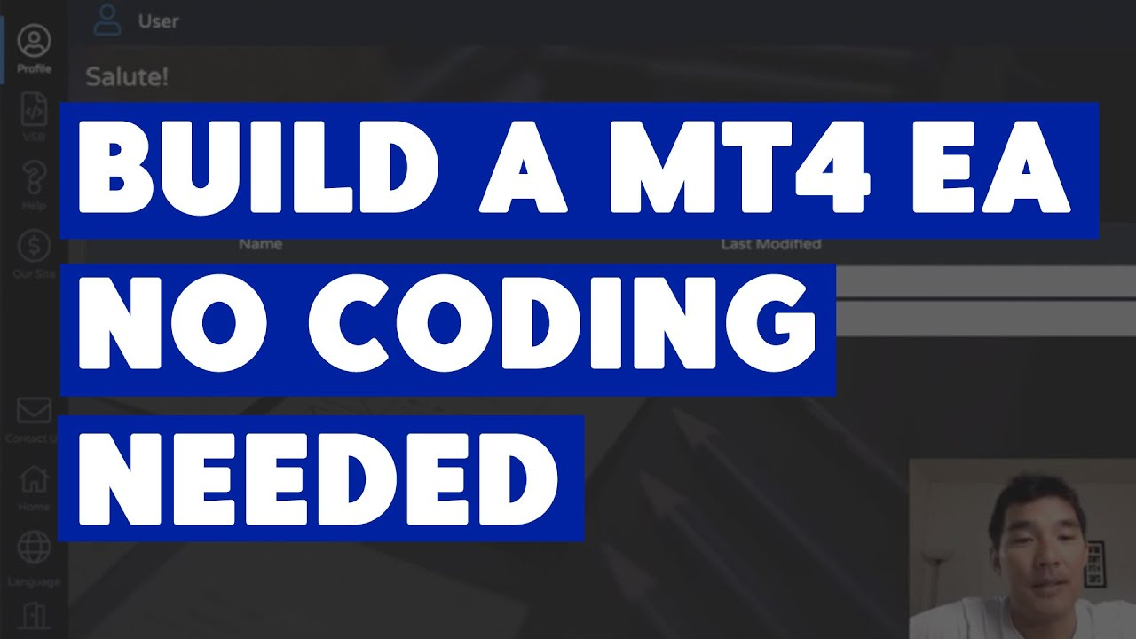 Build Mt4 Eas No Coding Needed For Free With Visual Strategy