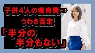 花田美恵子がうわさ否定!子供の養育費「半分の半分もない」 花田美恵子...